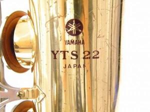 ヤマハ テナーサックス YTS-22 赤ロゴ